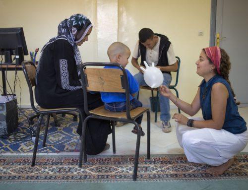 Comença el Camp de Treball Voluntari i Social al Projecte Aghbala'16